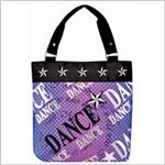 Purple Star Tote Dance Bag
