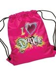 Leo's I Love Dance Sling Bag