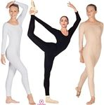 Eurotard Adult Cotton Long Sleeve Dance Unitard