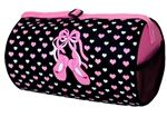 Ballet Slipper and Hearts Duffle Dance Bag