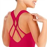 So Danca Child Tank Leotard with Back Detail