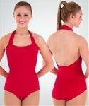 Body Wrappers Adult Halter Leotard (Size: Small, Color: Black)
